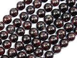 Red Garnet, 10mm, Round Beads-BeadBeyond