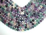 Fluorite Beads, 10mm Round Beads-BeadBeyond