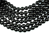 Black Onyx, 16mm Round Beads-BeadBeyond