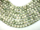 Peace Jade Beads, 12mm Round Beads-BeadBeyond