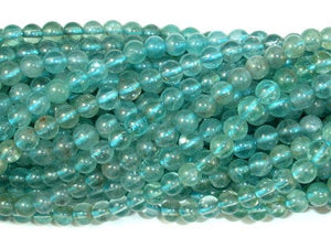 Apatite Beads, 4.5mm- 5mm Round-BeadBeyond