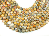 Crazy Lace Agate Beads, 12mm Round Beads-BeadBeyond
