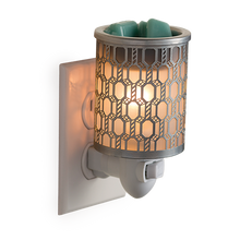 Load image into Gallery viewer, Filigree Pluggable Fragrance Warmer