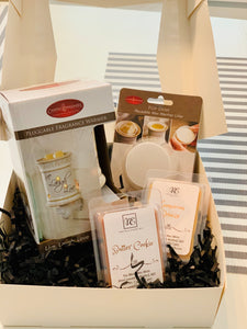Fragrance Warmer Gift Set