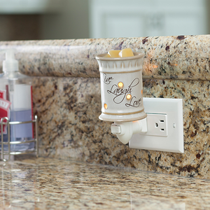 Live, Laugh, Love Pluggable Fragrance Warmer