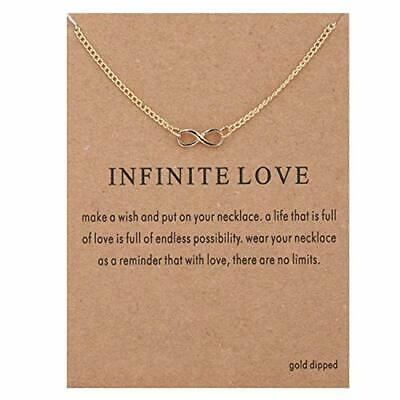 Infinity Love Charm  Necklace