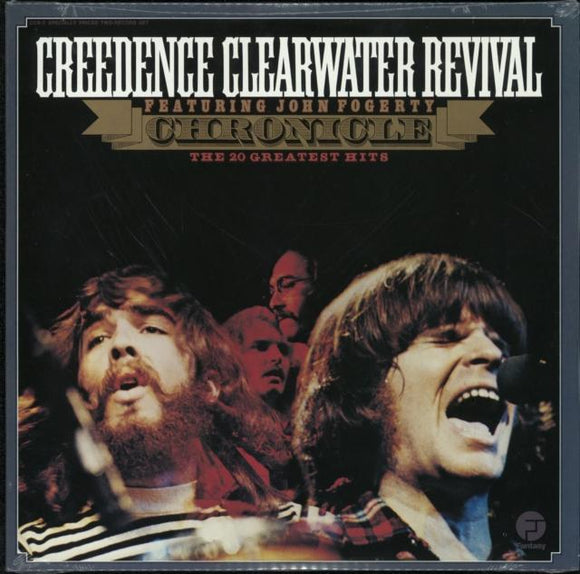 CREEDENCE CLEARWATER REVIVAL<BR><I>CHRONICLE 2LP</I>