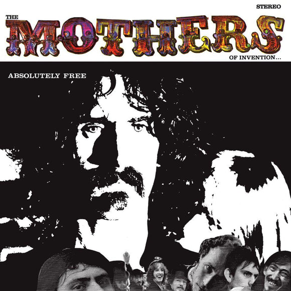 ZAPPA, FRANK AND THE MOTHERS OF INVENTION<BR><I>ABSOLUTLEY FREE 2LP</I>