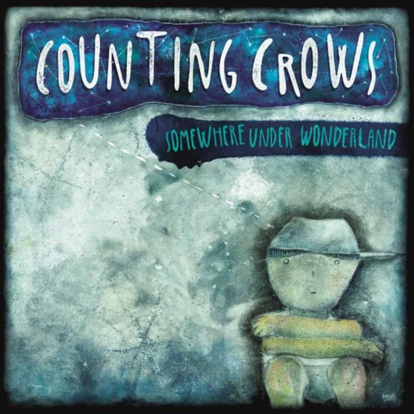 COUNTING CROWS<br> <i>SOMEWHERE UNDER WONDERLAND [Ltd Blue Vinyl] LP</I>