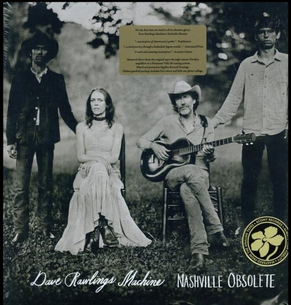 DAVID RAWLINGS MACHINE<br> <I>NASHVILLE OBSOLETE LP</I>