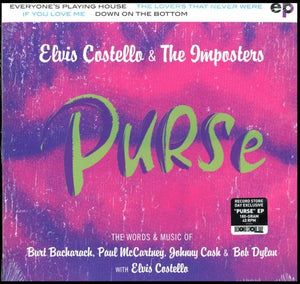 ELVIS COSTELLO & THE IMPOSTERS<br> <i>PURSE (RSD 2019) [45 RPM] EP</i>