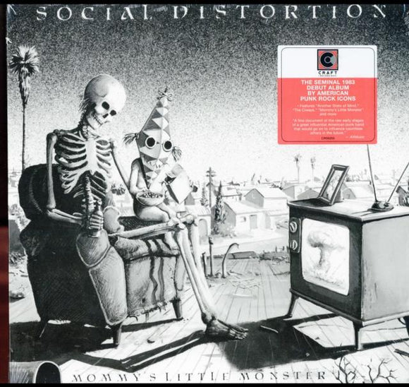 SOCIAL DISTORION<BR><I>MOMMY'S LITTLE MONSTER (Reissue) LP</I>