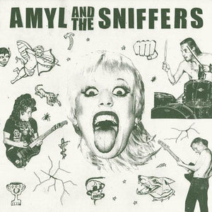 AMYL AND THE SNIFFERS<br> <I>AMYL AND THE SNIFFERS [Egg Splatter Vinyl] LP</I>
