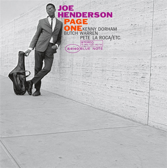 HENDERSON, JOE <BR><I> PAGE ONE (Blue Note Classic Series) LP</I><br><br>