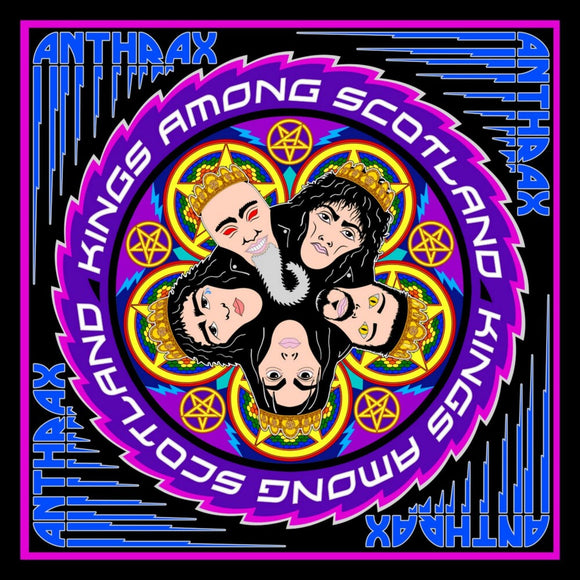 ANTHRAX <BR><I> KINGS AMONG SCOTLAND (RSD) [Blue, Pink and Purple Vinyl] 3LP</I>
