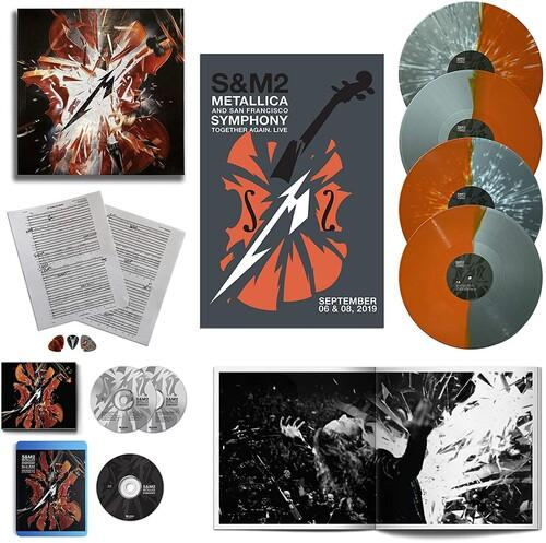 METALLICA & SAN FRANCISCO SYMPHONY<br><i>S&M2 (Deluxe Box w/ CD and Blu-ray) 4LP</I>