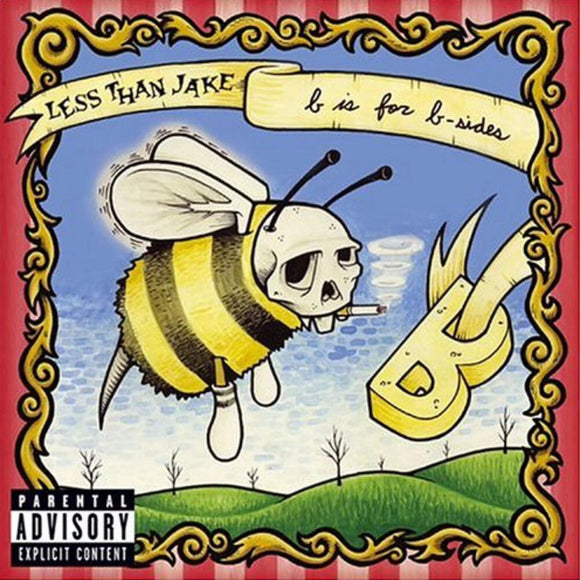 LESS THAN JAKE <BR><I> B IS FOR B-SIDES [Indie Exclusive Split Yellow/Clear Vinyl] LP</I>