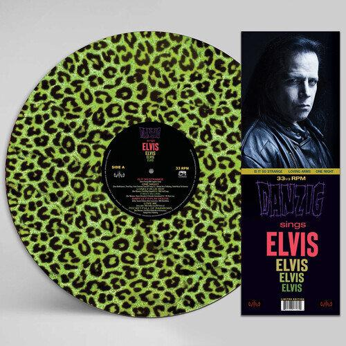 DANZIG<br><i>SINGS ELVIS [Green Leopard Print Picture Disc] LP</I>