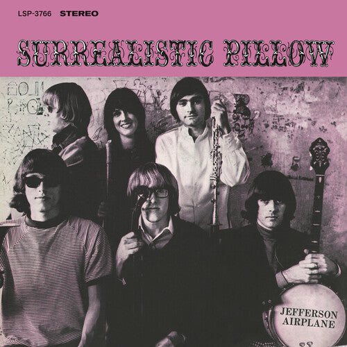JEFFERSON AIRPLANE <BR><I> SURREALISTIC PILLOW [180G] LP</I><BR><BR>