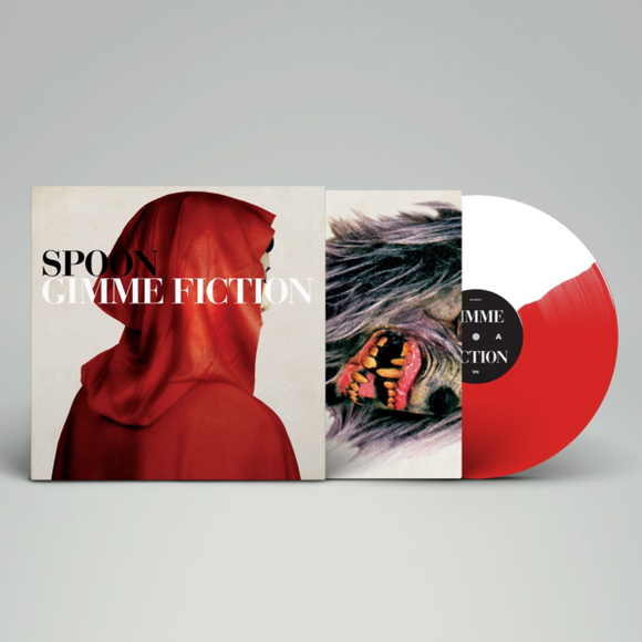 SPOON <BR><I> GIMME FICTION [Limited Edition Red & White Split-color- Vinyl] LP</I>