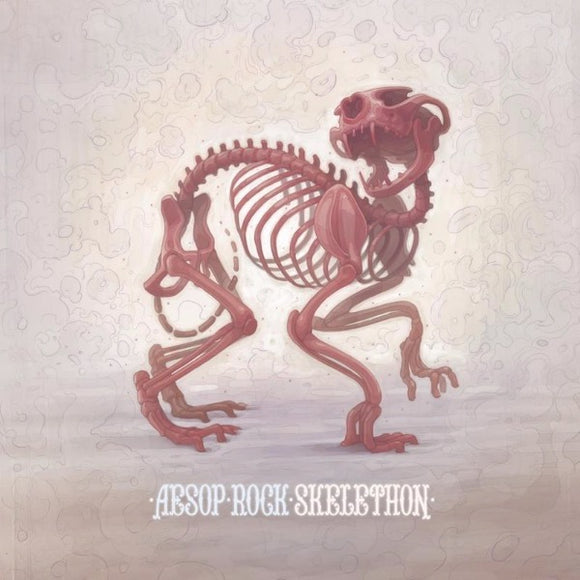 AESOP ROCK <BR><I> SKELETHON [Translucent Red Vinyl] 2LP</i>