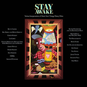 VARIOUS ARTISTS<BR><I> STAY AWAKE: MUSIC FROM VINTAGE DISNEY FILMS (Black Friday 2018) 2LP</I>