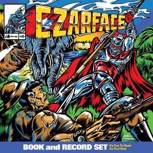 "CZARFACE<br><i>DOUBLE DOSE OF DANGER (2019 RSD) [Comic and 12""] LP</I>"