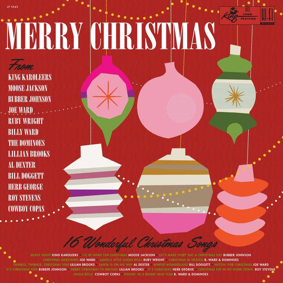 VARIOUS ARTISTS <br><I> MERRY CHRISTMAS FROM KING RECORDS (RSD) LP</I>