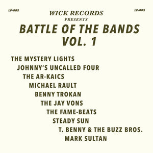VARIOUS <BR><I> WICK RECORDS PRESENTS BATTLE OF THE BANDS (RSD) LP<br>[LIMIT 1 PER CUSTOMER]</I>