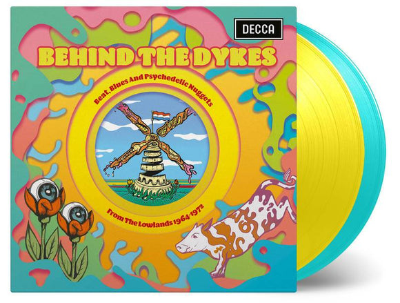 VARIOUS ARTISTS<br><i>BEHIND THE DYKES: BEAT, BLUES & PSYCHEDELIC NUGGETS FROM THE LOWLANDS 1962-1974 (RSD) 2LP<br>[LIMIT 1 PER CUSTOMER]</I>