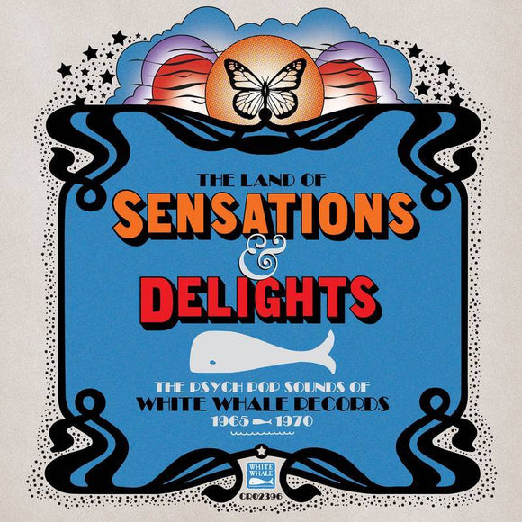 VARIOUS <BR><I> LAND OF SENSATIONS & DELIGHTS: PSYCH POP (RSD) 2LP [LIMIT 1 PER CUSTOMER]</I>