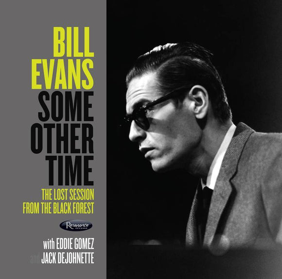 EVANS, BILL<BR><i>SOME OTHER TIME: The Lost Session From The Black Forest (RSD) 2LP<br>[LIMIT 1 PER CUSTOMER]</I>