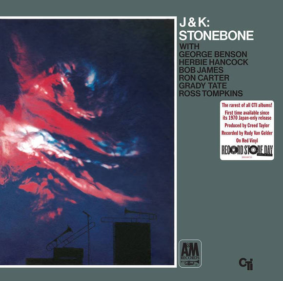 JOHNSON, J.J. AND KAI WINDING <BR><I> STONEBONE (RSD) [Red Vinyl] LP</i><br>