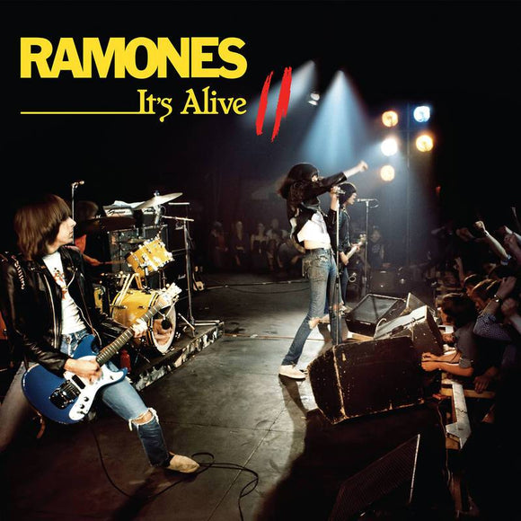 RAMONES<BR><I>IT'S ALIVE II (RSD) 2LP<br>[LIMIT 1 PER CUSTOMER]</I>