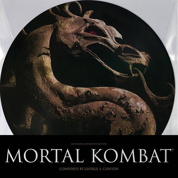CLINTON, GEORGE S.<BR><I>MORTAL COMBAT - OST (PICTURE DISC) (RSD) LP<br>[LIMIT 1 PER CUSTOMER]</I>