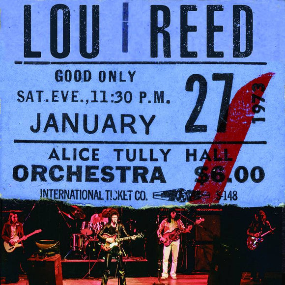 REED, LOU <br><i> LIVE AT ALICE TULLY HALL: JANUARY 27, 1973 - 2ND SHOW (RSD) 2LP</I>