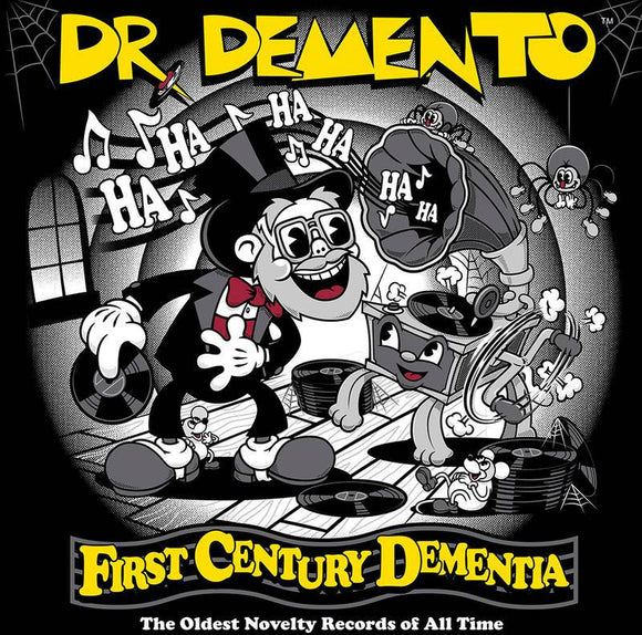 DR. DEMENTO <br><i> FIRST CENTURY DEMENTIA: THE OLDEST NOVELTY RECORDS (RSD) 2LP <br>[LIMIT 1 PER CUSTOMER]</I>