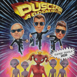 "PUSCIFER <br><i> APOCALYPTICAL / ROCKETMAN (RSD) 7"" <br>[LIMIT 1 PER CUSTOMER]</I>"