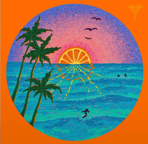 VARIOUS <br><i> JAZZ DISPENSARY: ORANGE SUNSET (RSD) [Yellow Starburst Vinyl] LP </I>