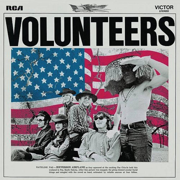 JEFFERSON AIRPLANE <BR><I> VOLUNTEERS [180G] LP</I><BR><BR>