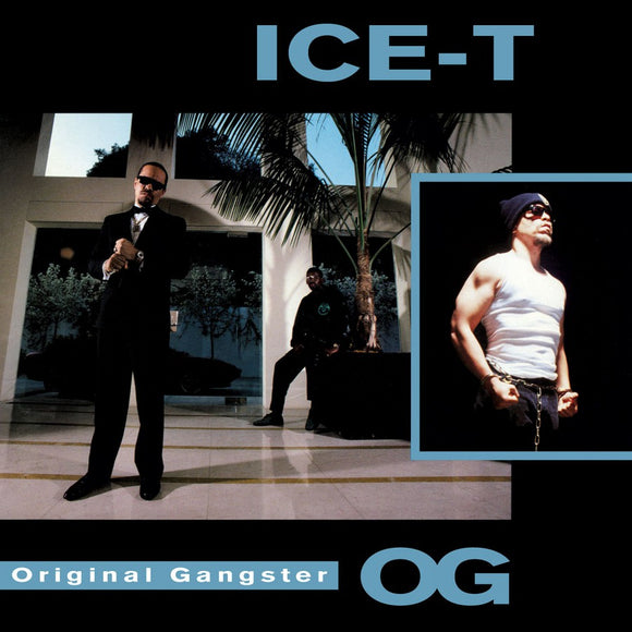 ICE-T<br.<i>O.G. (ORIGINAL GANGSTER)[Limited Blue Marbled Vinyl] LP</i>