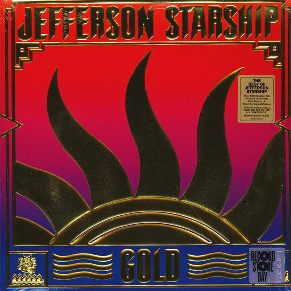 "JEFFERSON STARSHIP <BR><I> GOLD [RSD Gold Vinyl +7""] LP</I>"