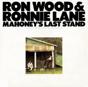 WOOD, RON & RONNIE LANE <BR><I> MAHONEY'S LAST STAND [Limited White Vinyl] LP</I>
