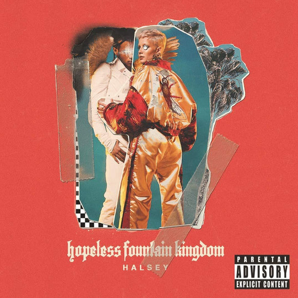 HALSEY<BR><I>HOPELESS FOUNTAIN KINGDOM [CLEAR VINYL] LP</I>