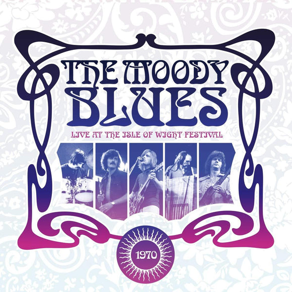 MOODY BLUES, THE<Br><i>LIVE AT THE ISLE OF WIGHT 1970 [Limited Edition Violet Color Vinyl] 2LP</I>