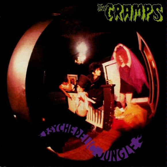 CRAMPS, THE <BR><I> PSYCHEDELIC JUNGLE LP</I>