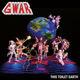 GWAR<BR><I>THIS TOILET EARTH [Blue with Red Splatter Vinyl, limited to 1000] LP</I>
