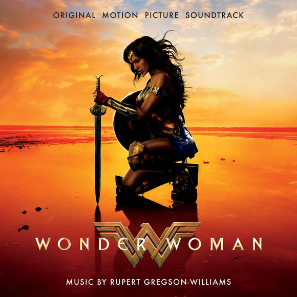 WONDER WOMAN (SOUNDTRACK)<br> <i>[LTD Gold 180G, Gatefold, Import, Numbered] 2LP</i>