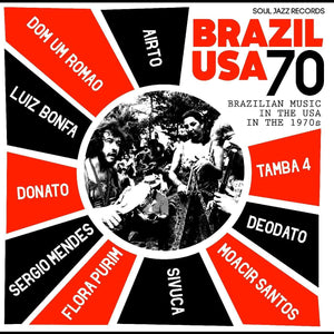VARIOUS ARTISTS <br><i> BRAZIL USA 70 2LP</i>