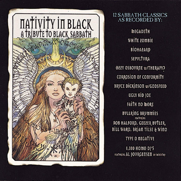 VARIOUS <BR><I> NATIVITY IN BLACK: TRIBUTE TO BLACK SABBATH 2LP</I>